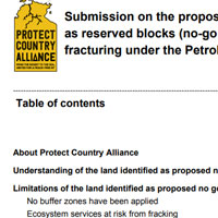 Protect Country Alliance Submission on No Go Zones Logo