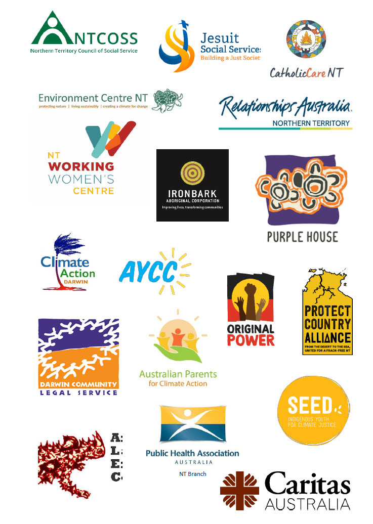 Joint statement responding to the Northern Territory Government's draft Climate Change Response.