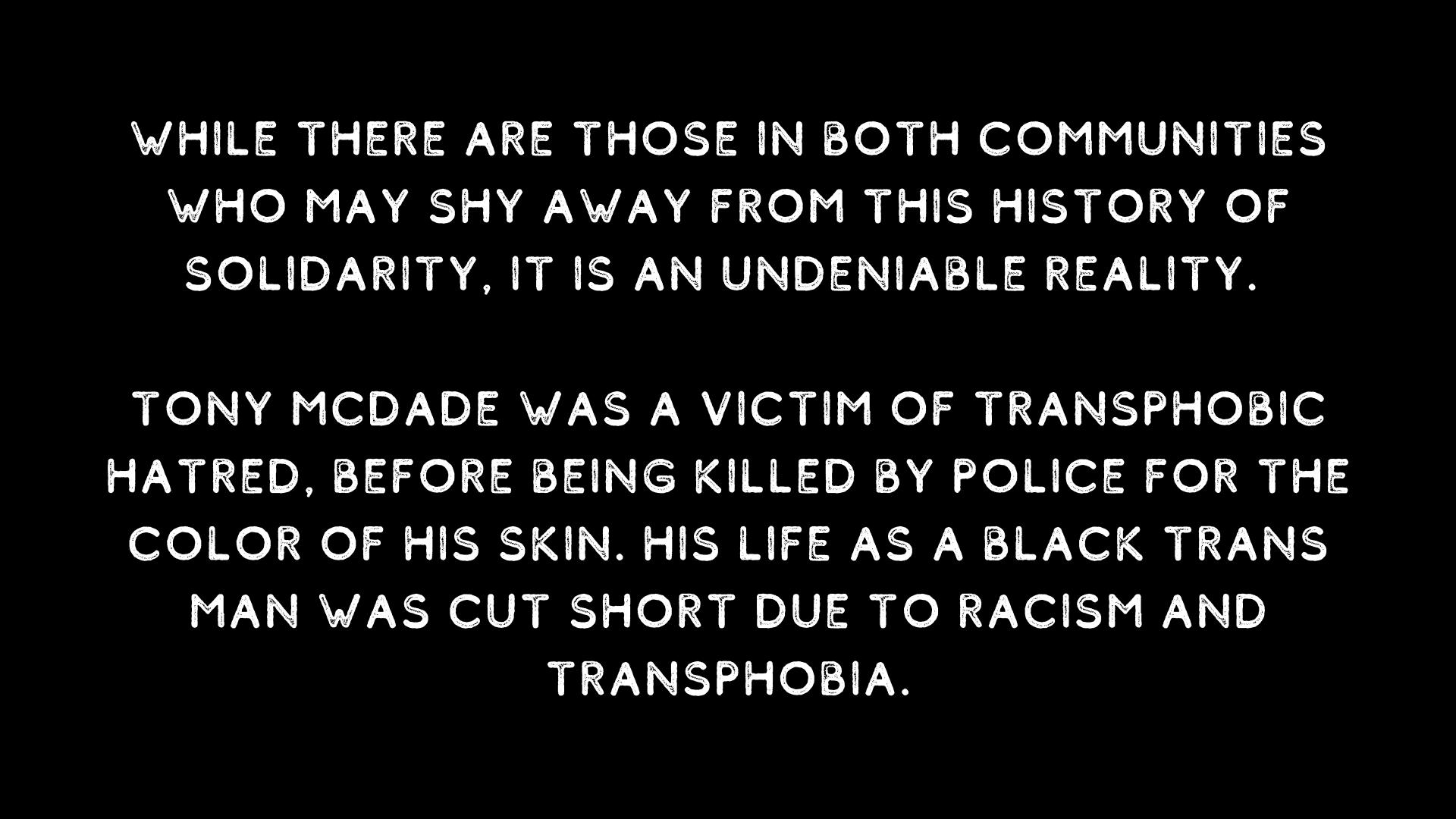 Tony McDade