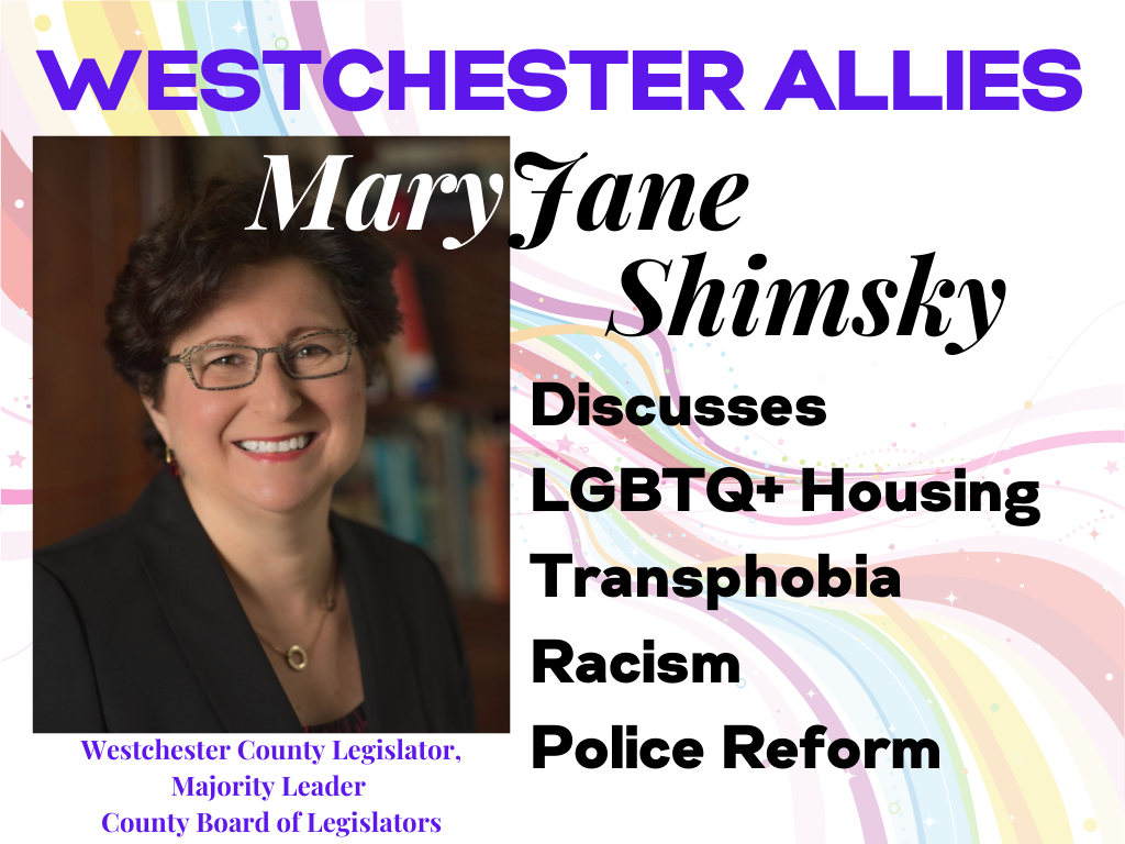 MaryJane Shimsky Supports LGBTQ