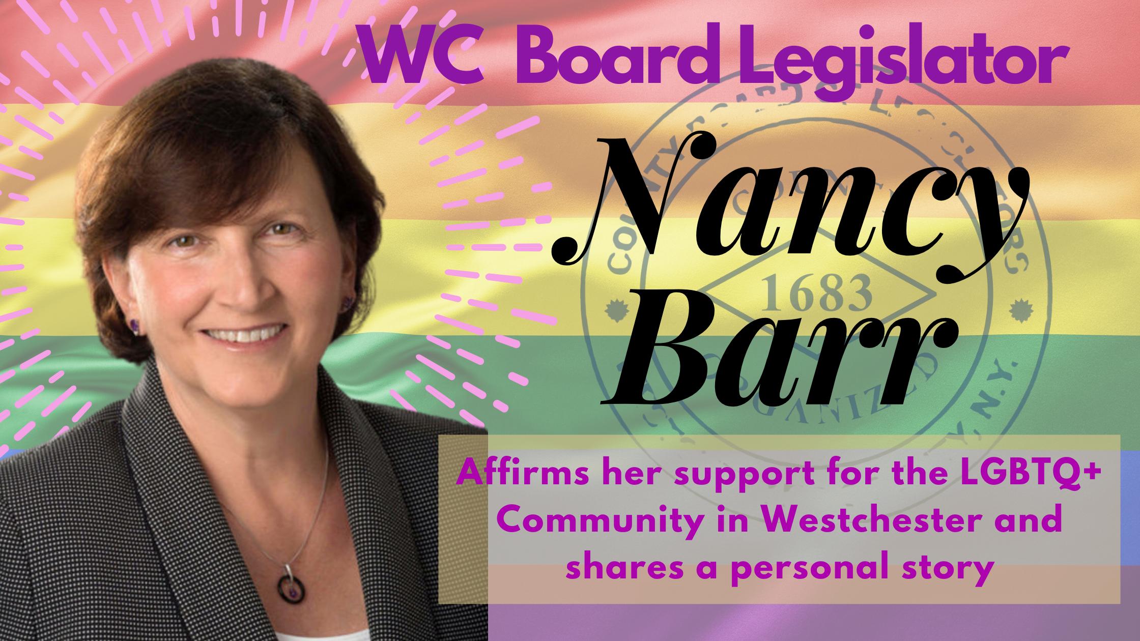 Nancy Barr LGBT