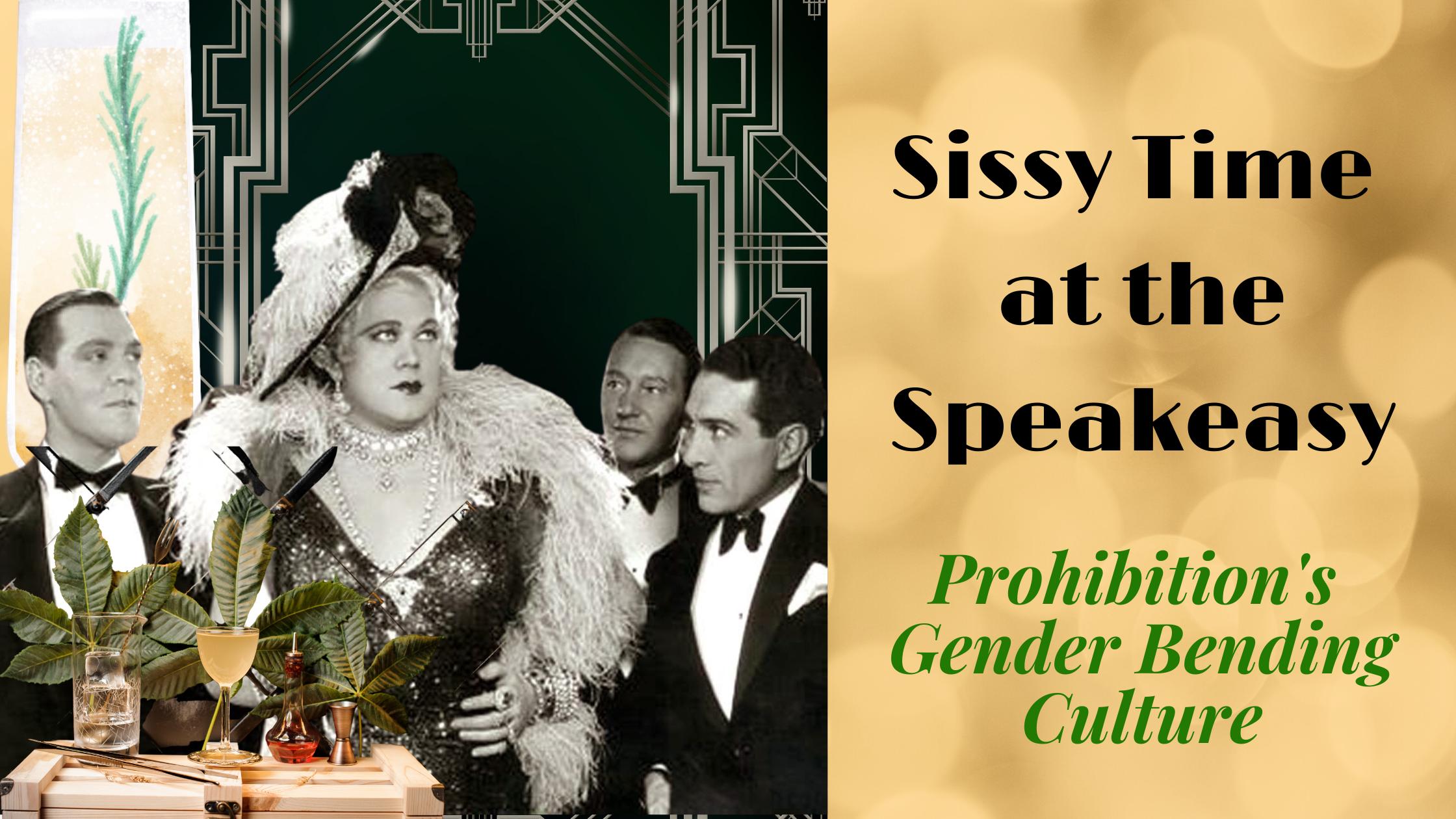 Gene Malin The Sissy of the Speakeasies