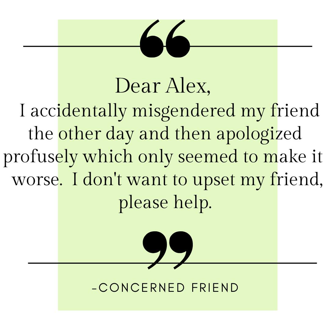concerned friend