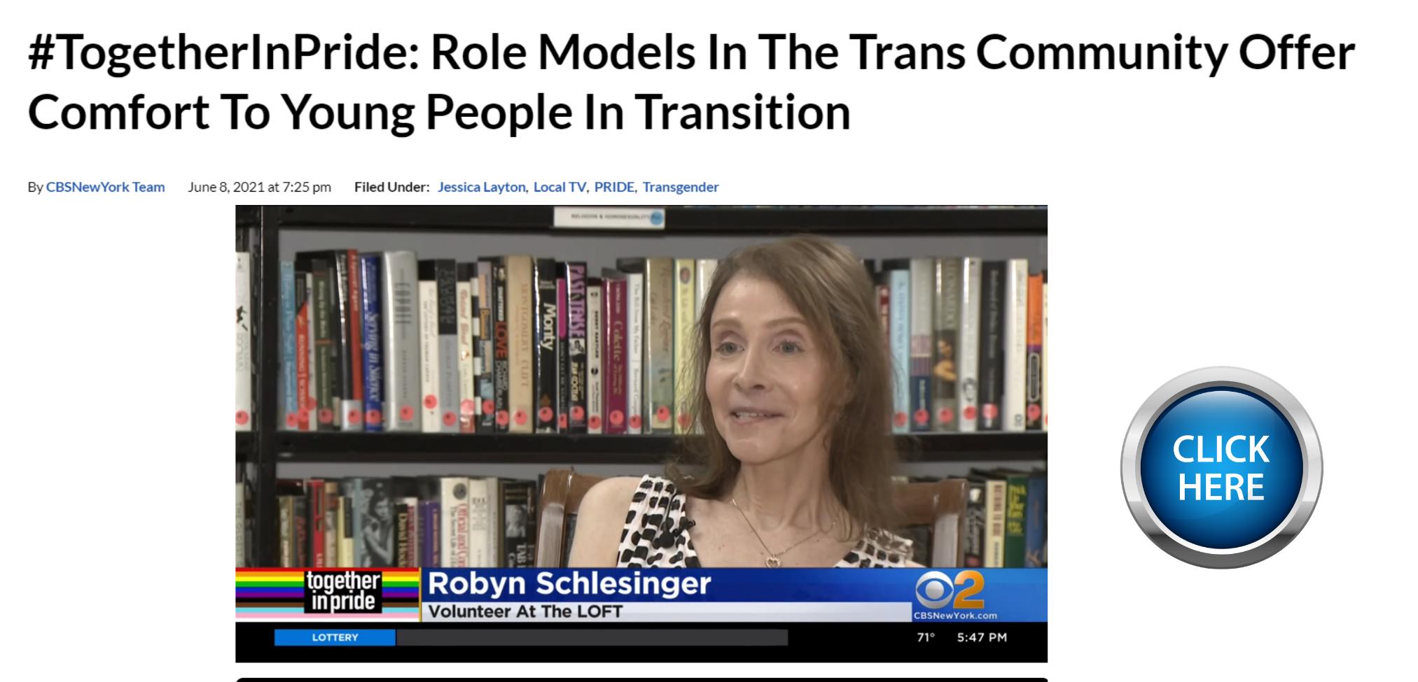 LGBTQ+ Community Center Robyn Schlesinger
