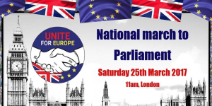 Unite for Europe march 2017