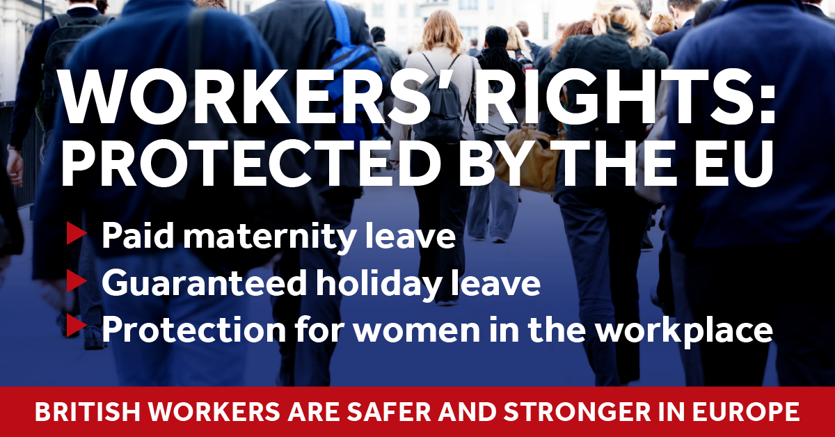EU referendum blog - worker's rights protected by the EU