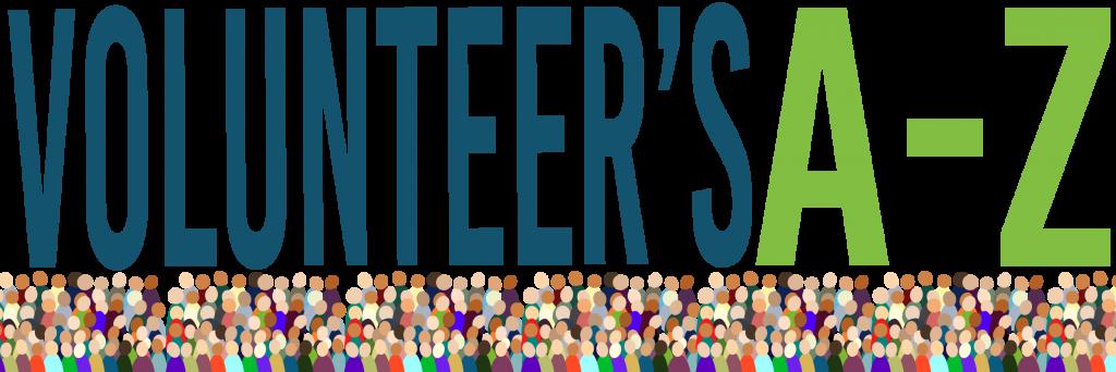 Volunteer's A-Z Banner