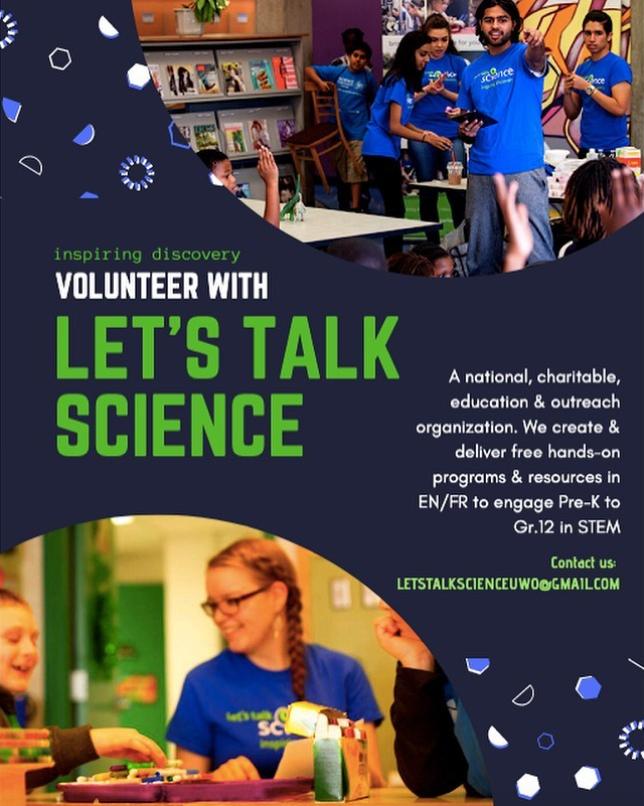 Let's Talk Science Volunteers