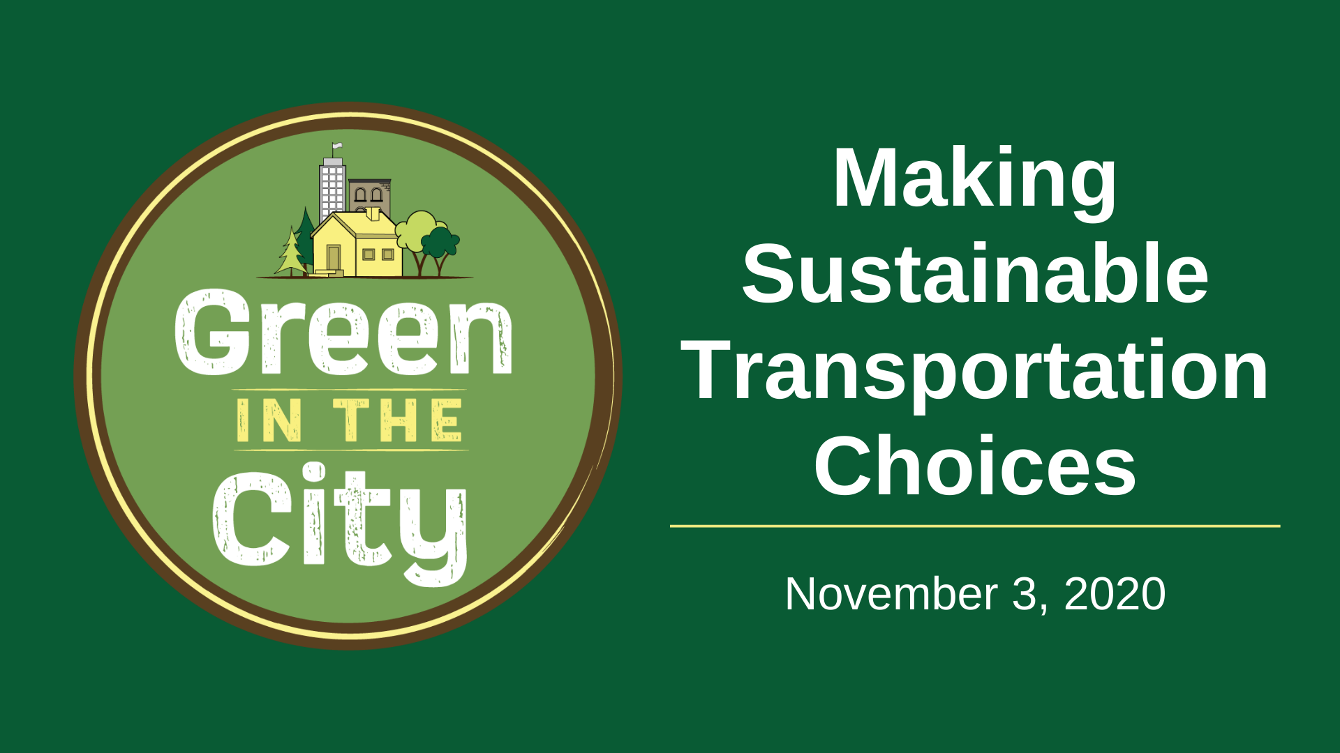 Thumbnail image for Making Sustainable Transportation Choices event recording