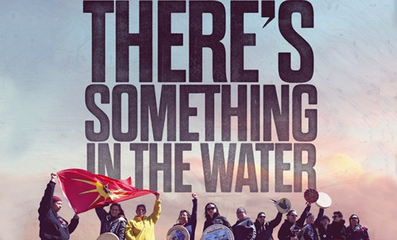 Film cover for There's Something in the Water