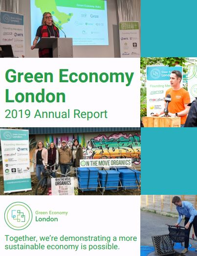 Green Economy London impact report cover