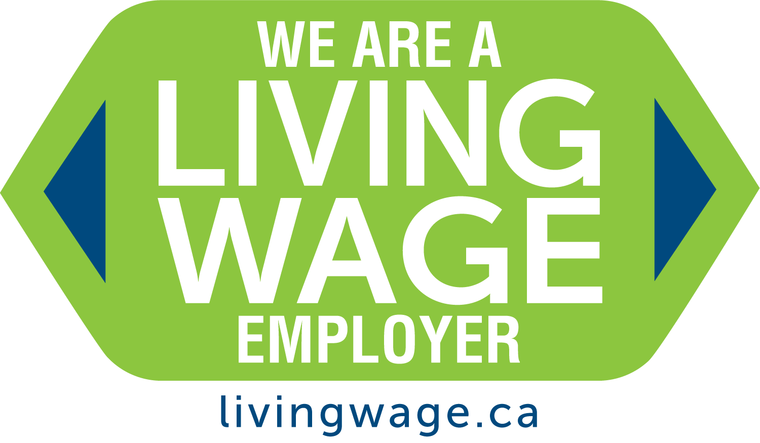 Living Wage Certified Badge