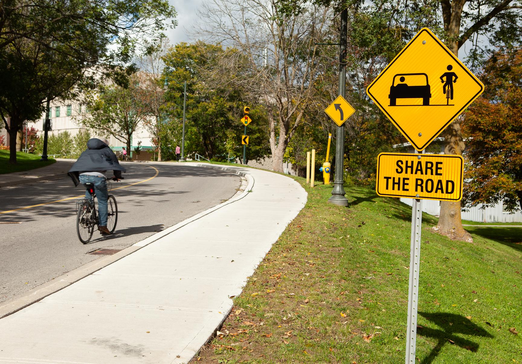 Shared Bike Path
