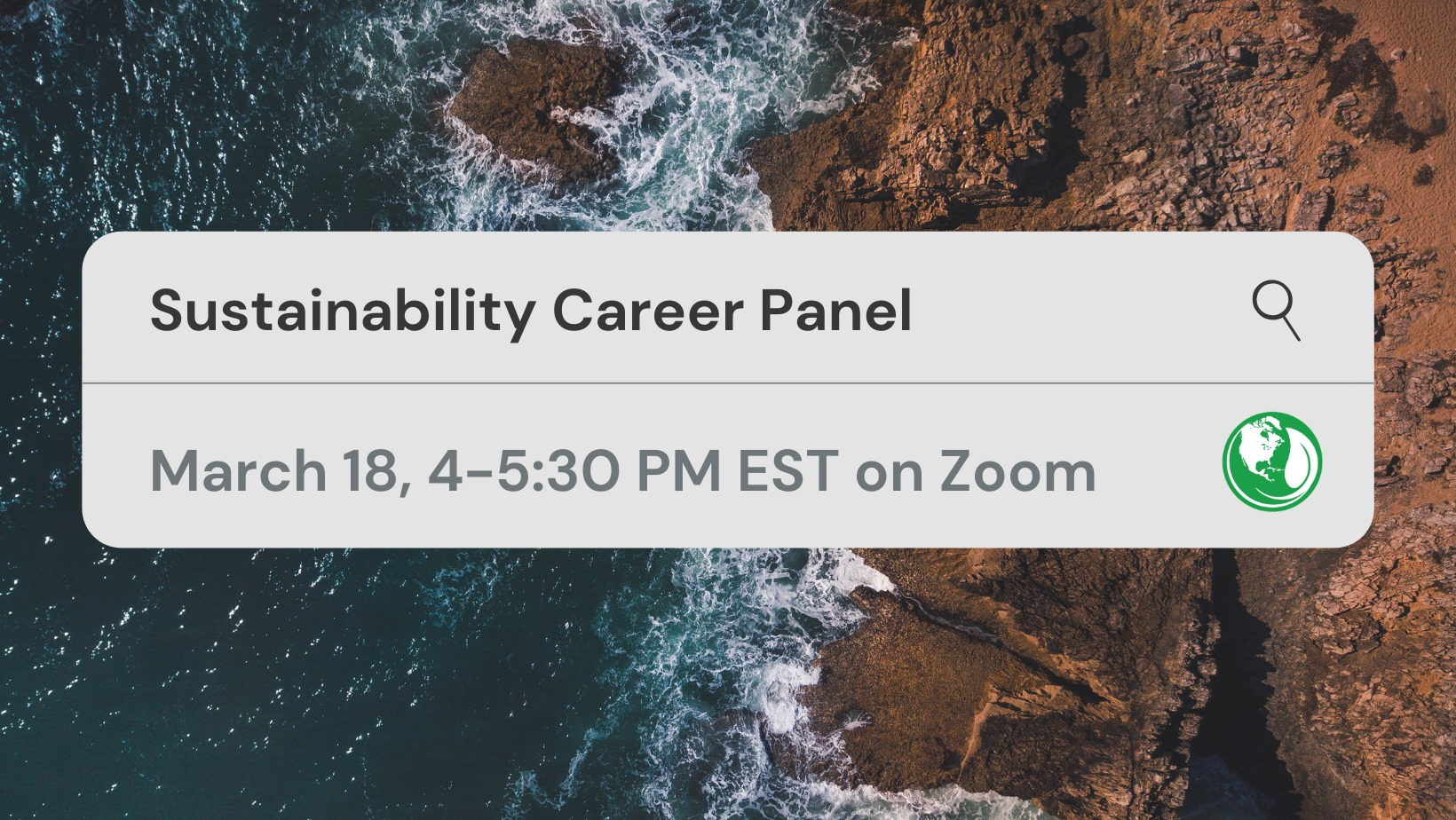 Sustainability Career Panel Image
