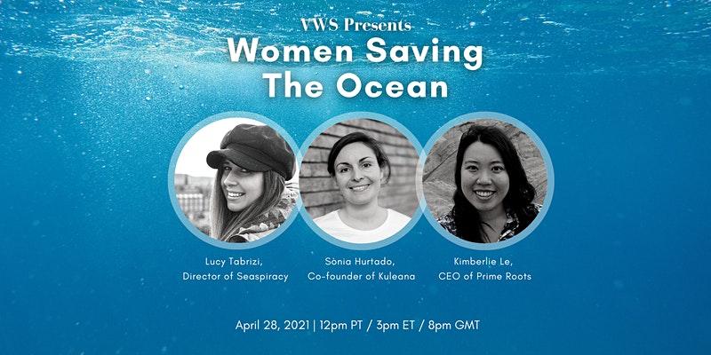 Women Saving the Ocean Poster