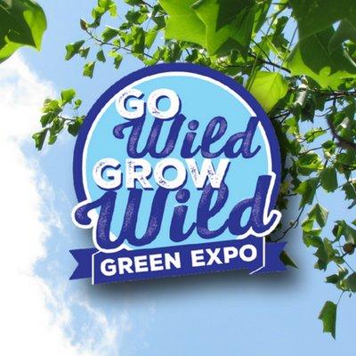 Go Wild Grow Wild Green Expo Logo