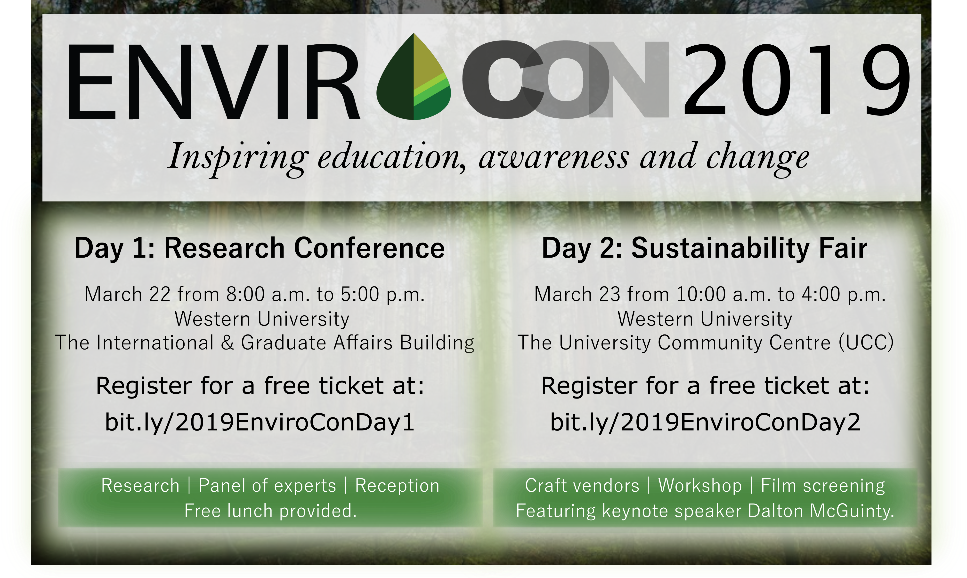EnviroCon 2019 - London Environmental Network
