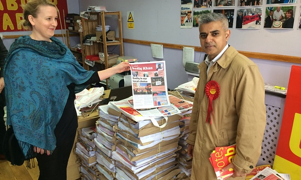 Sadiq Khan: on the Tooting trail with Labour's London campaign man