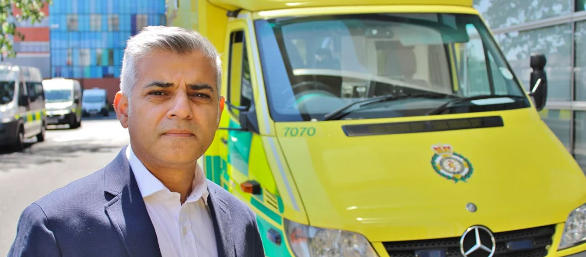Sadiq Khan uncovers new data revealing worsening crisis in staffing at the London Ambulance Service
