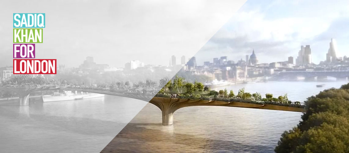 Sadiq Khan statement on Garden Bridge project