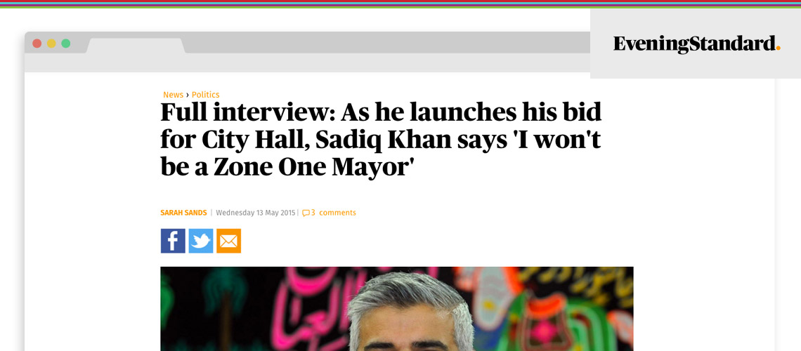 I Won't Be a Zone One Mayor