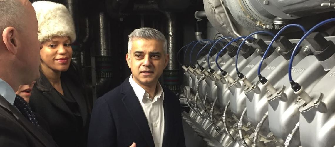 Sadiq Khan unveils plan for London clean energy revolution