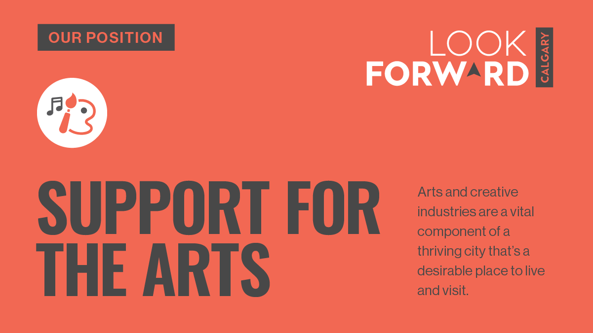 Our position Support for the Arts