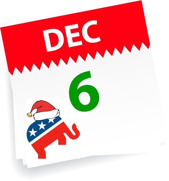 GOP Holiday Elephant