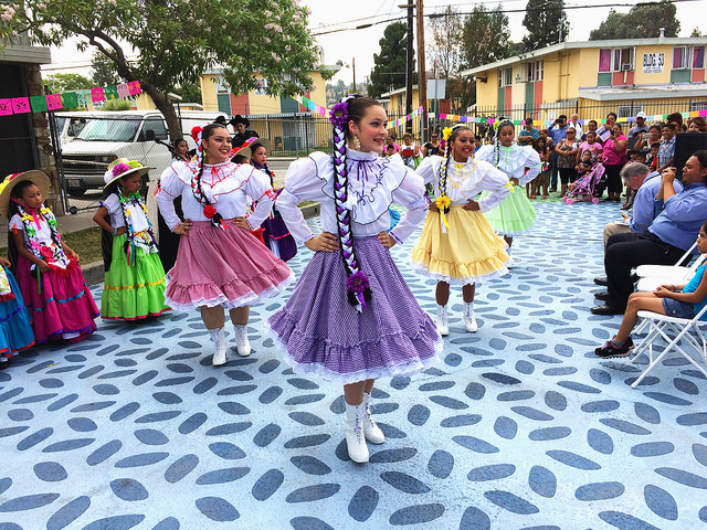 Ballet folklorico in Pacoima