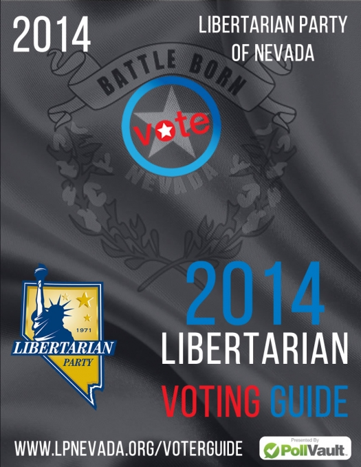 2014 Libertarian Party of Nevada Voter Guide