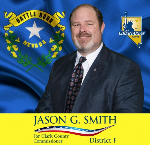 Meet the Candidate Event - Jason G. Smith Libertarian Candidate for County Commission F