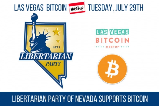 The Libertarian Party of Nevada supports Bitcoin!