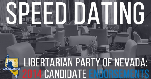 "Libertarian Party ""Speed Dating"" for Candidate Endorsements & Endorsement Committee"