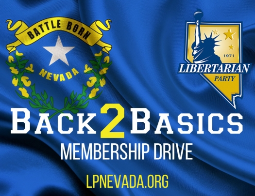 "LPNevada Launches ""Back 2 Basics"" Membership Drive Campaign"