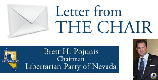 Letter from the Chair - Building The Libertarian Party of Nevada: Two-Year Game Plan