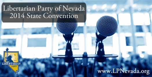 2014 LPNevada State Convention & Clark County Sheriff Debate Reminder