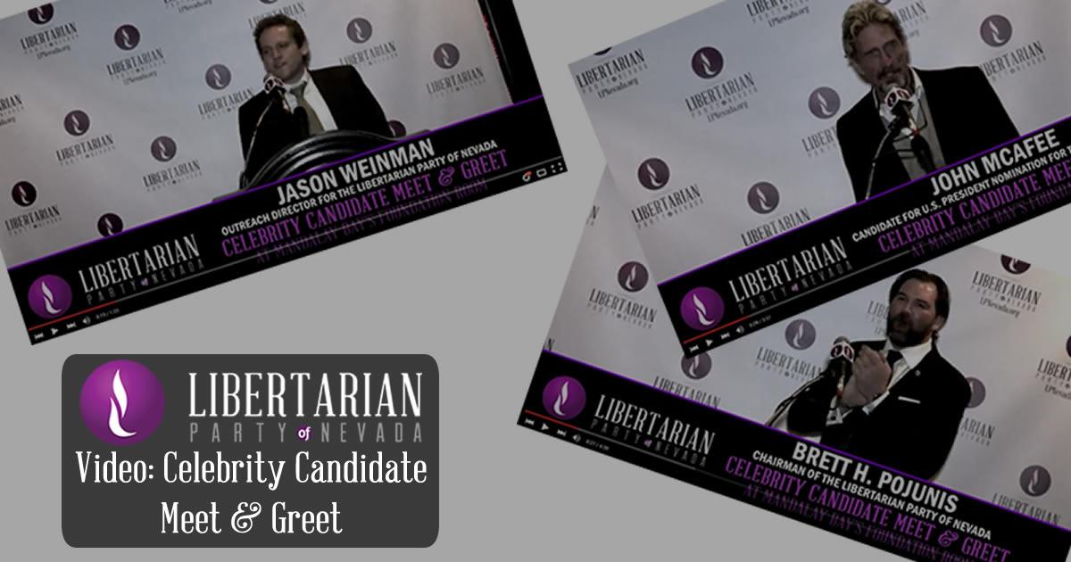 Video celebrity meet greet libertarian party of nevada jan 8 video celebrity meet greet libertarian party of nevada jan 8 2016 libertarian party of nevada m4hsunfo