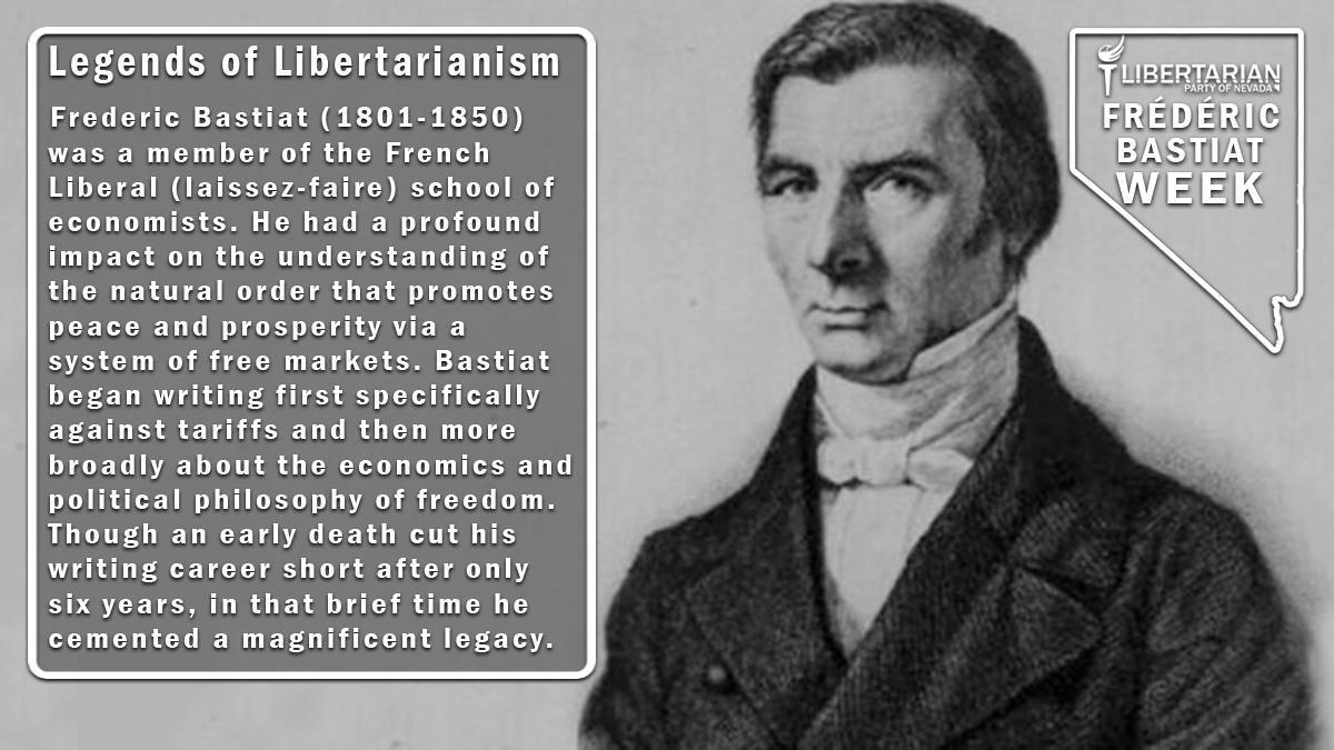 Frédéric Bastiat Week Day 1