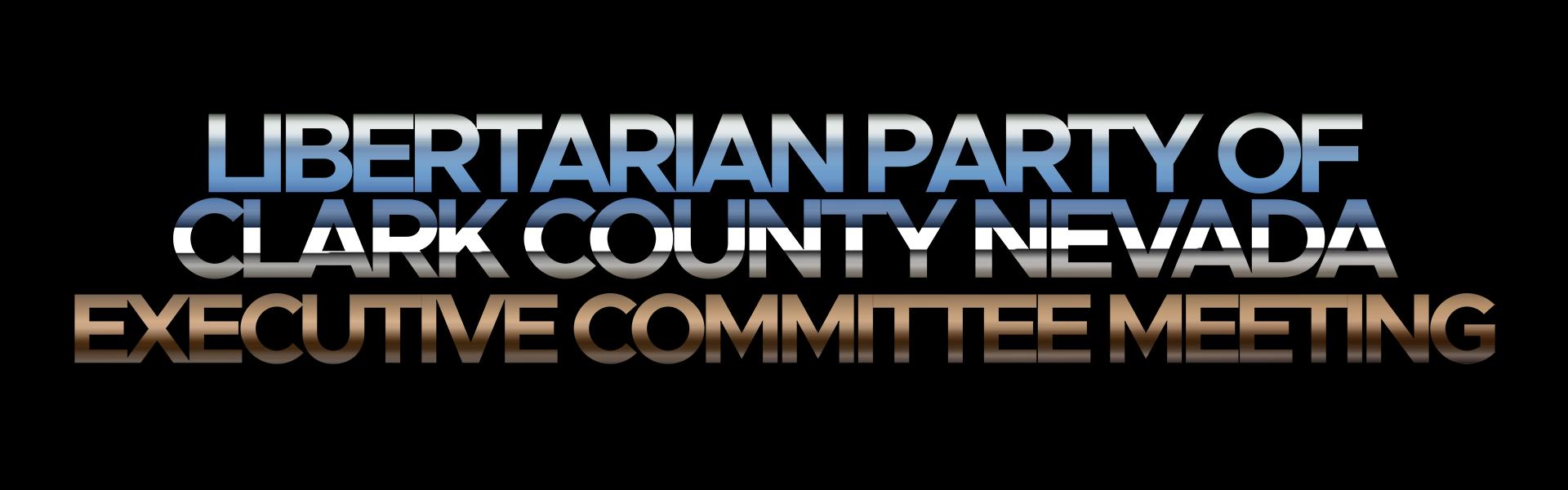 LPCCNV Executive Committee Meeting