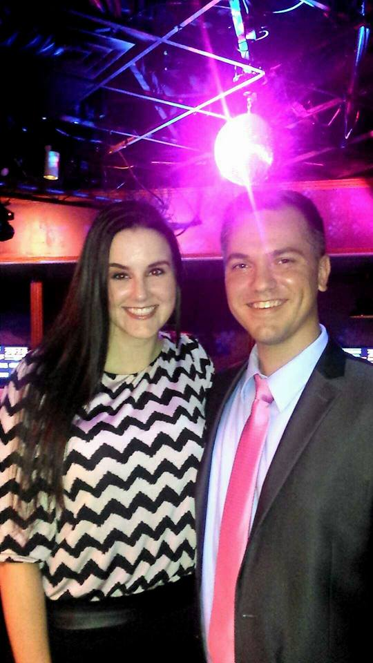 Erin Lee with Austin Petersen. Photo by Erin Lee.