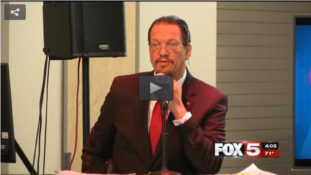 Fox 5 coverage of the Las Vegas debate