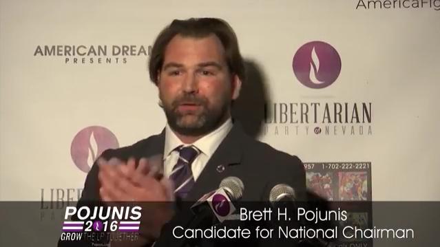 Brett Pojunis announces bid for LNC Chair