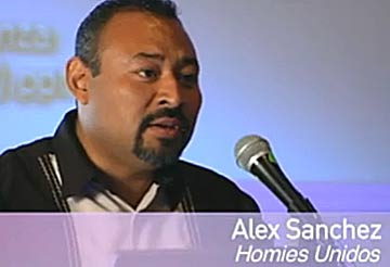 Alex Sanchez at the March 2009 UCLA forum,