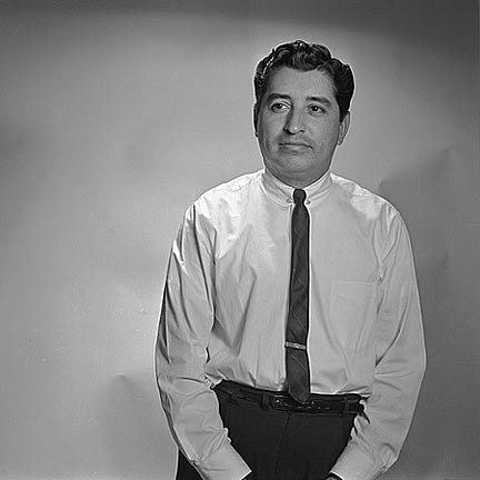Ruben Salazar in 1970. Photo Courtesy of UCLA Library's Digital Collection.