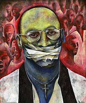 Troy Davis artwork courtesy of Amnesty International