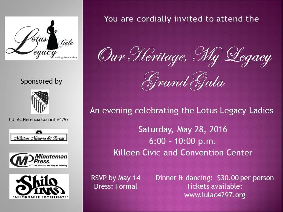 Lutus Legacy Gala