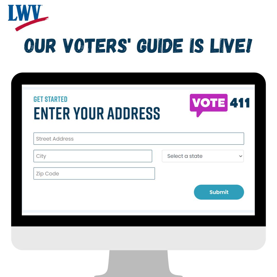 Vote411 Computer Image