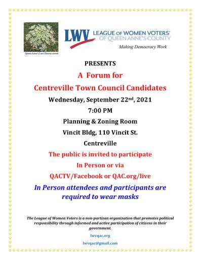 Town Council Forum