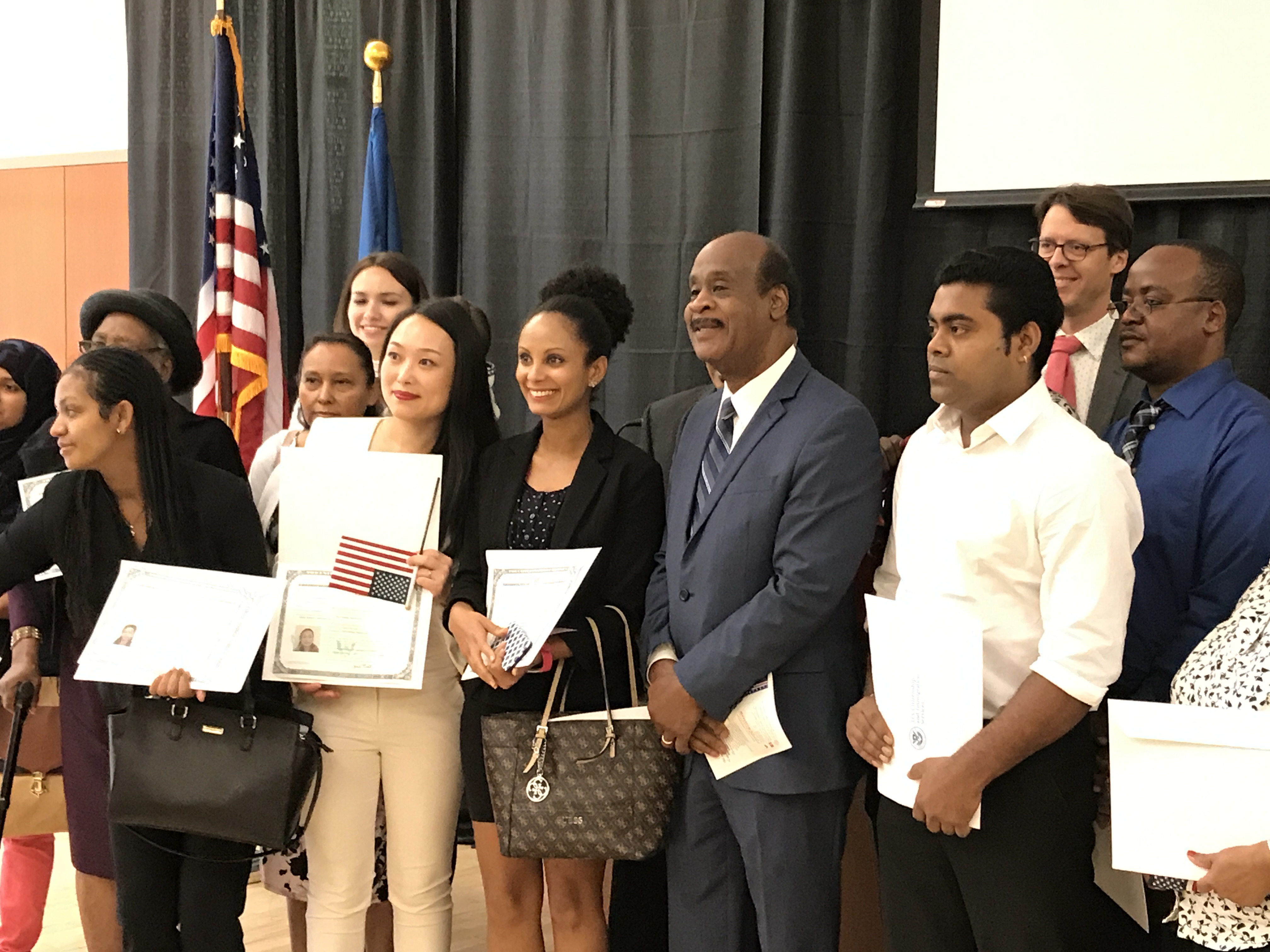 Registration of new citizens