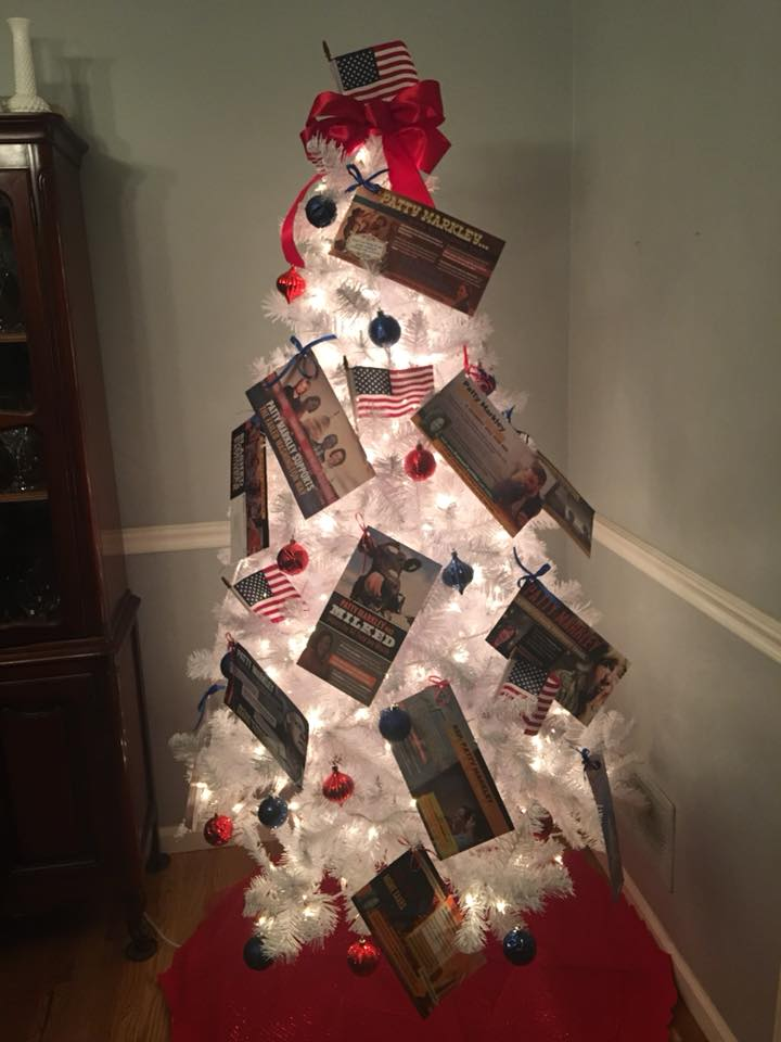 Rep. Patty Markley's Negative Mailer Christmas Tree